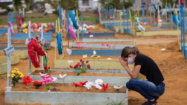 Brasil tem média móvel de 984 mortes por covid; indicador segue em queda