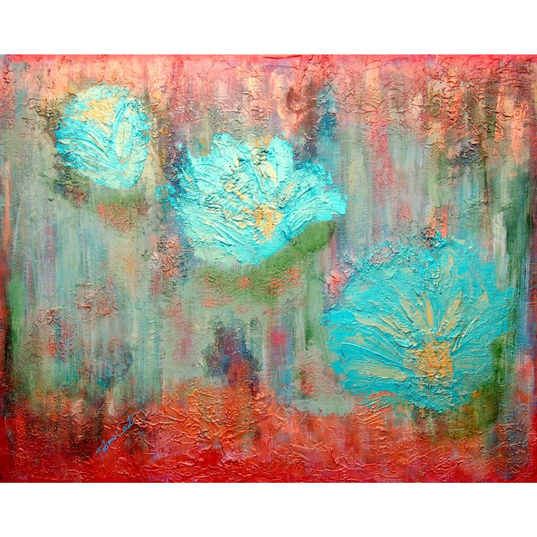 'Sbocciato' Original Painting