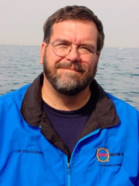 """Steve Nagiewicz, author of """"Hidden History of Maritime NJ"""" @ DIVERS TWO 