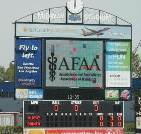 AFAA at St. Paul Saints 5/13/2012