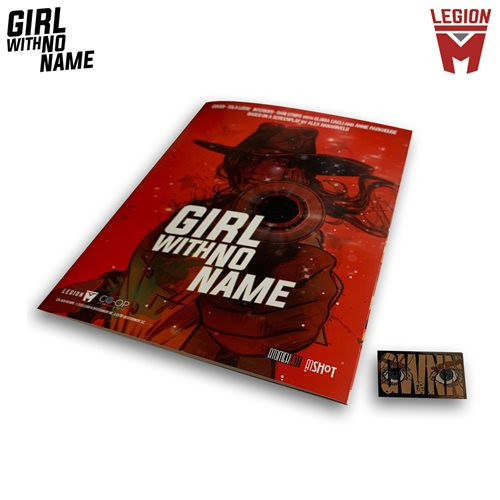 Girl With No Name Comic and Pin Set
