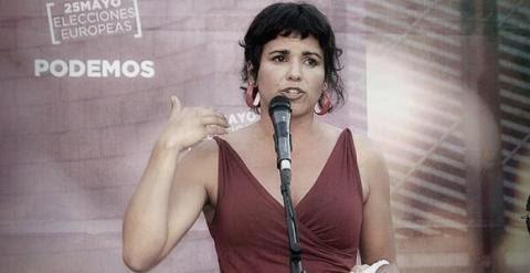 La eurodiputada Teresa Rodríguez.