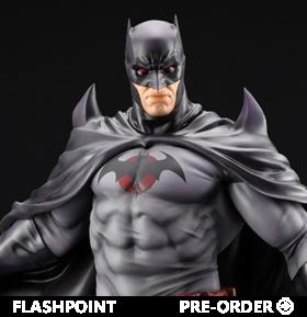Flashpoint ArtFX Batman (Thomas Wayne) Statue