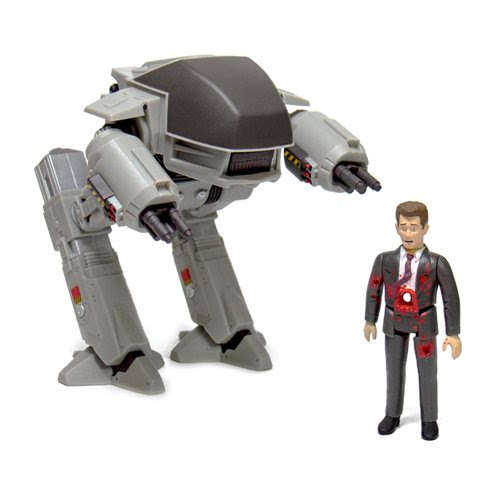 Image of RoboCop ED-209 and Mr. Kinney ReAction Figure Set - MARCH 2020