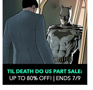 Til Death Do Us Part Sale: up to 80% off! Sale ends 7/9.