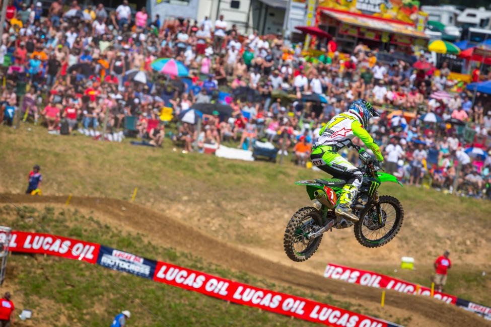 Tomac has won the overall at all four rounds thus far in 2018.