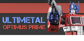 TRANSFORMERS ULTIMETAL OPTIMUS PRIME FIGURE