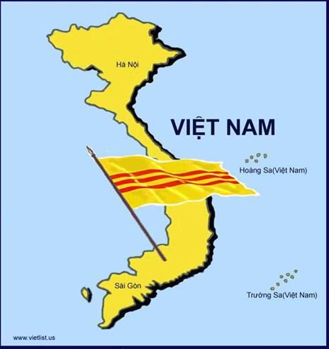 Image result for bản đồ việt nam cộng hòa