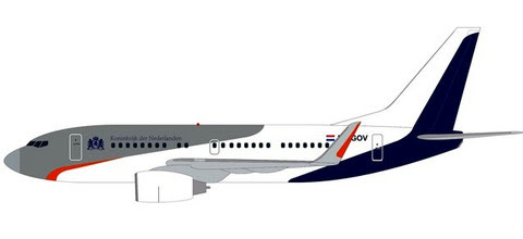 Boeing 737-700BBJ Netherlands Governement PH-GOV | is due: January / February 2020