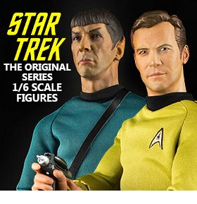 1/6 SCALE STAR TREK FIGURES