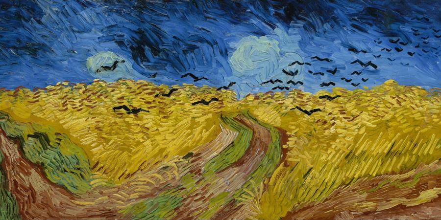 Image credit: Wheat Field With Crows (detail), Vincent van Gogh, 1890, Van Gogh Museum, Amsterdam, Netherlands.