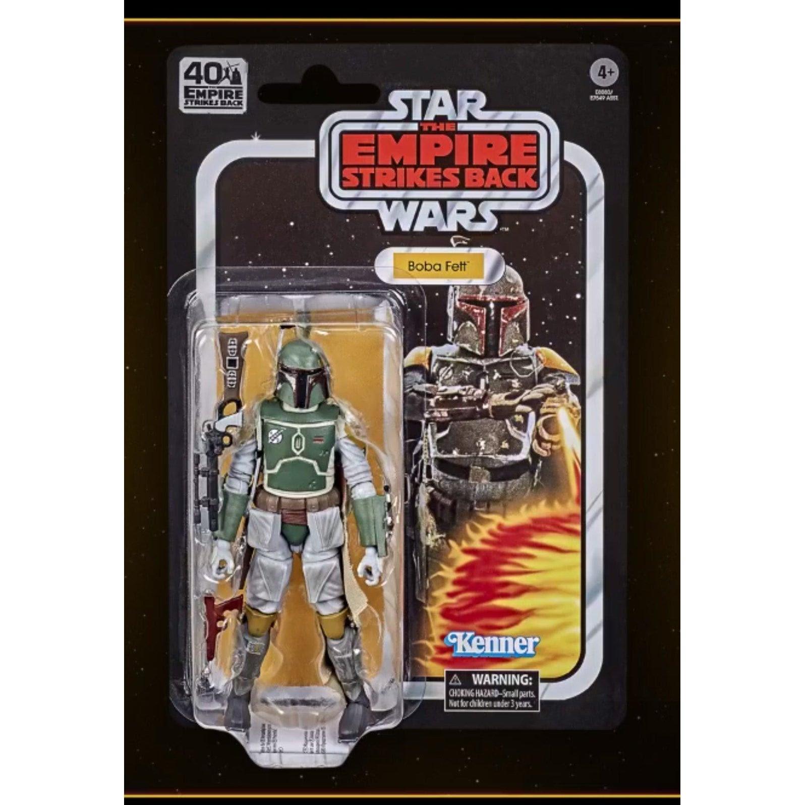 Image of Star Wars The Black Series Empire Strikes Back 40th Anniversary 6-Inch Boba Fett Action Figure - SEPTEMBER 2020