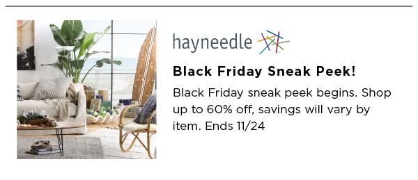 Hayneedle Best Black Friday Sales
