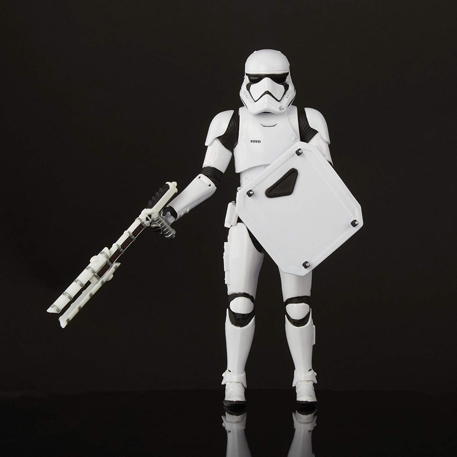 Image of Star Wars The Black Series First Order Stormtrooper with Gear - Exclusive