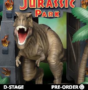 Jurassic Park D-Stage DS-088 Park Gate Statue