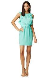 Shoshanna Aquamarine Katrina  Dress