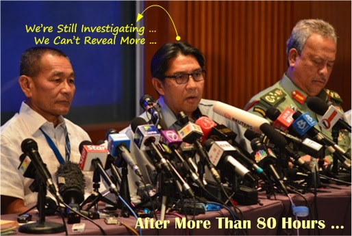 Malaysia MH370 Missing - Malaysia Not Disclosing