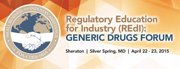 Generic Drug Forum