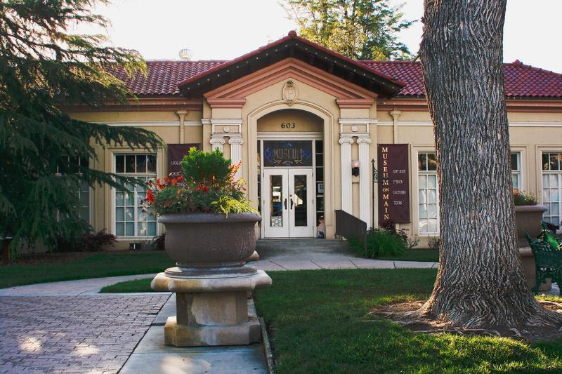 Pleasanton Museum front page
