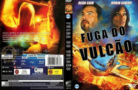 Fuga Do Vulcão Torrent   BDRip Dual Áudio (2014)