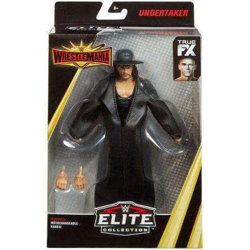 Image of WWE Wrestlemania Elite Collection - Undertaker Action Figure