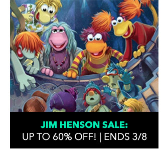 Jim Henson Sale: up to 60% off! Sale ends 3/8.