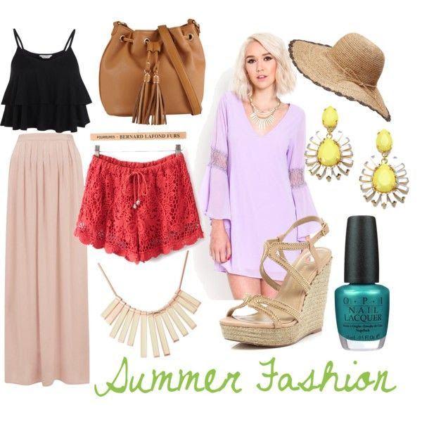 """Summer Fashion Tips"" by mscheek on Polyvore"