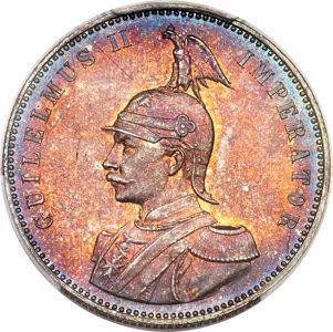 German East Africa: German Colony. Wilhelm II Proof Rupie 1905-J PR65 PCGS