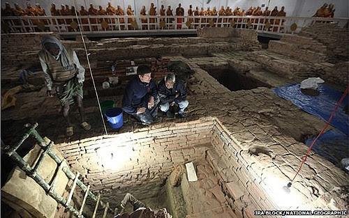 khảo cổ, phát hiện, đức Phật, thời điểm, phật giáo, thế kỷ