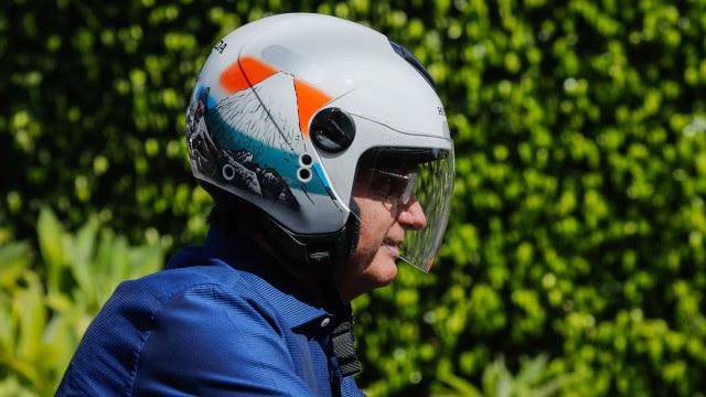 Bolsonaro diz a apoiadores que prevê 100 mil motos em passeio em São Paulo
