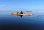 Matt Keene on CT Trail in Ochlockonee Bay by Doug Alderson