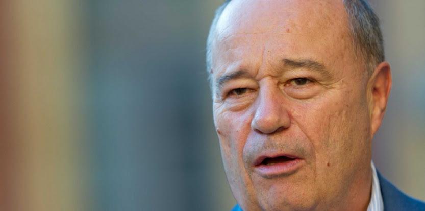 Jean-Michel Baylet, président du Parti radical de gauche (PRG), en 2011. (LANCELOT FREDERIC/SIPA)