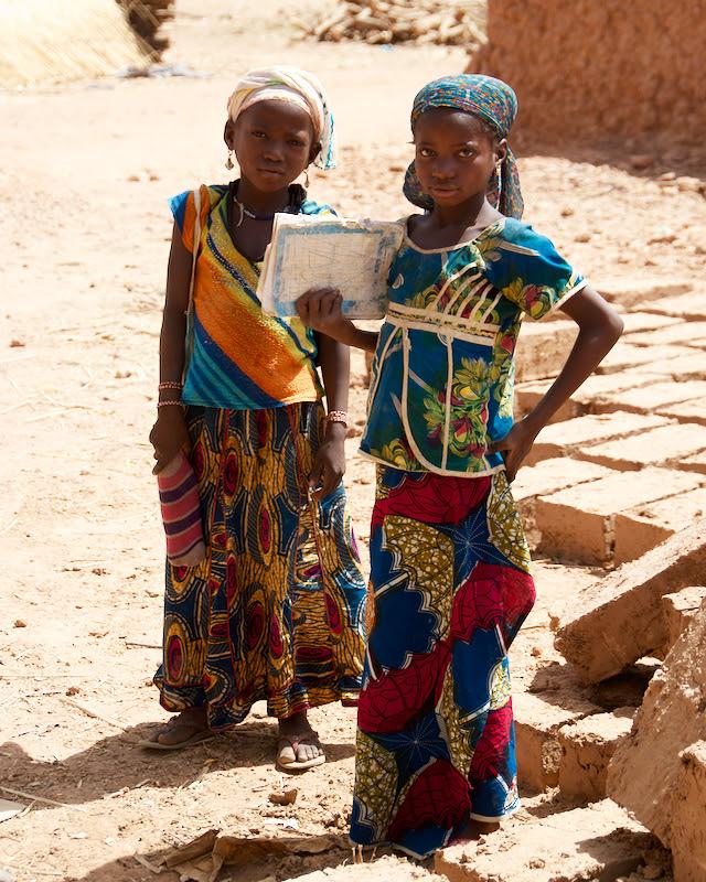 시골마을 방문중 만난 아이들
