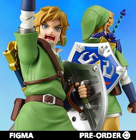 The Legend of Zelda: Skyward Sword figma No.153 Link
