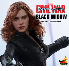 CAPTAIN AMERICA: CIVIL WAR 1/6 SCALE BLACK WIDOW
