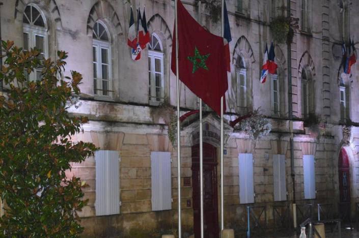 Bergerac drapeau marocain-062015-