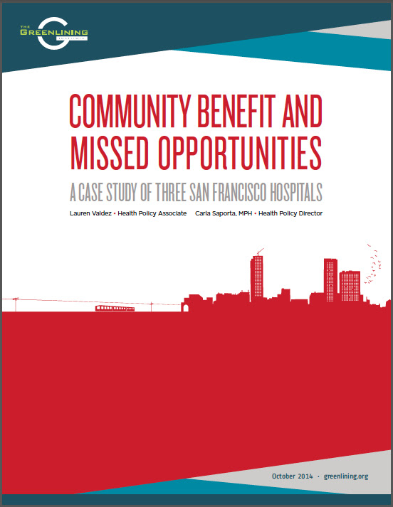 Download: Community Benefit and Missed Opportunities