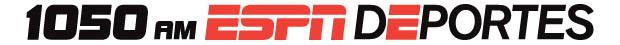 ESPN Deportes 1050 AM CLR Pos hor
