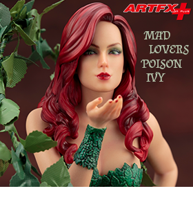 MAD LOVERS POISON IVY ARTFX+ STATUE