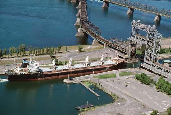 St Lawrence Seaway Locks -5