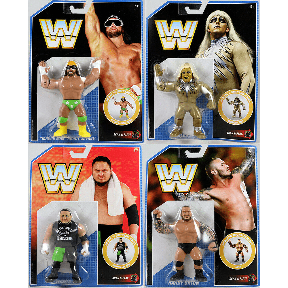 Image of WWE Retro Series 9 - Set of 4 - JULY 2019