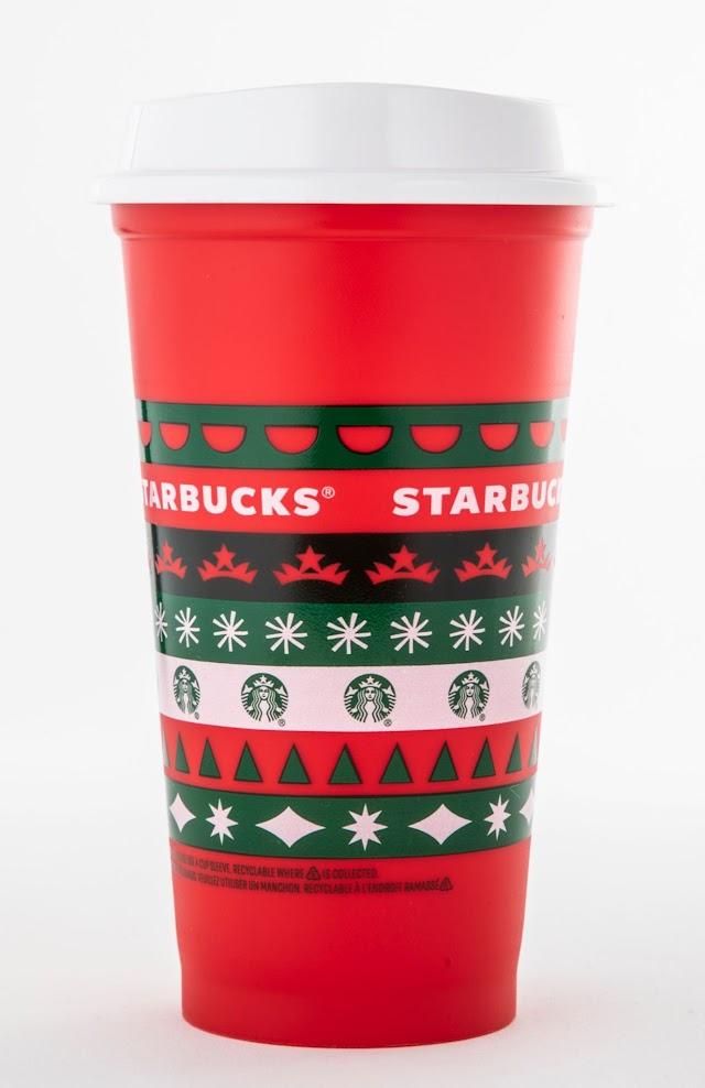Starbucks regalará vasos coleccionables de temporada este 6 de noviembre.