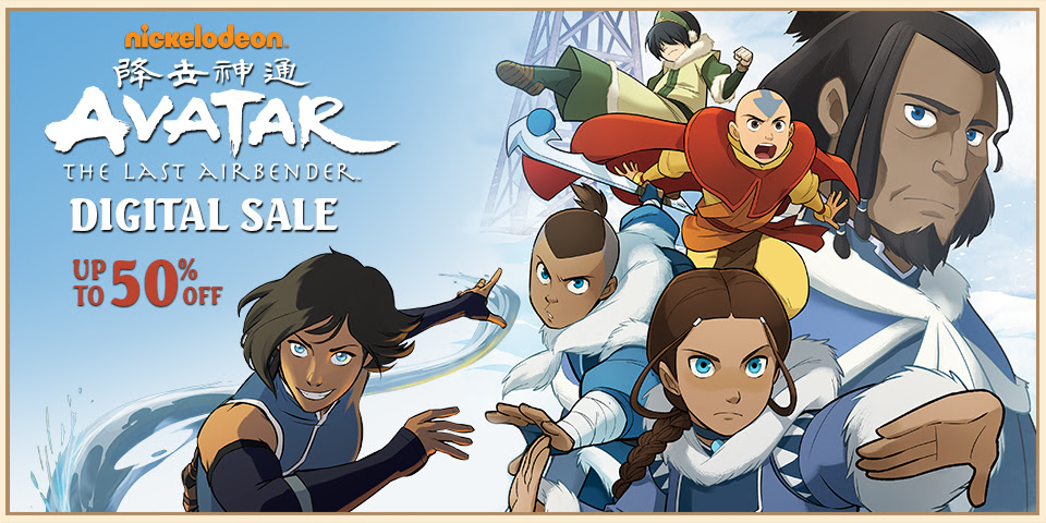 Avatar and Korra Digital Sale