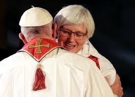 Znalezione obrazy dla zapytania franciszek i protestancka biskupka
