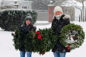 """Free Open To the Public "" Wreaths Across America Ceremony at Greenlawn"