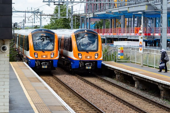 TfL image - Two Class 710 trains on The Gospel Oak to Barking route