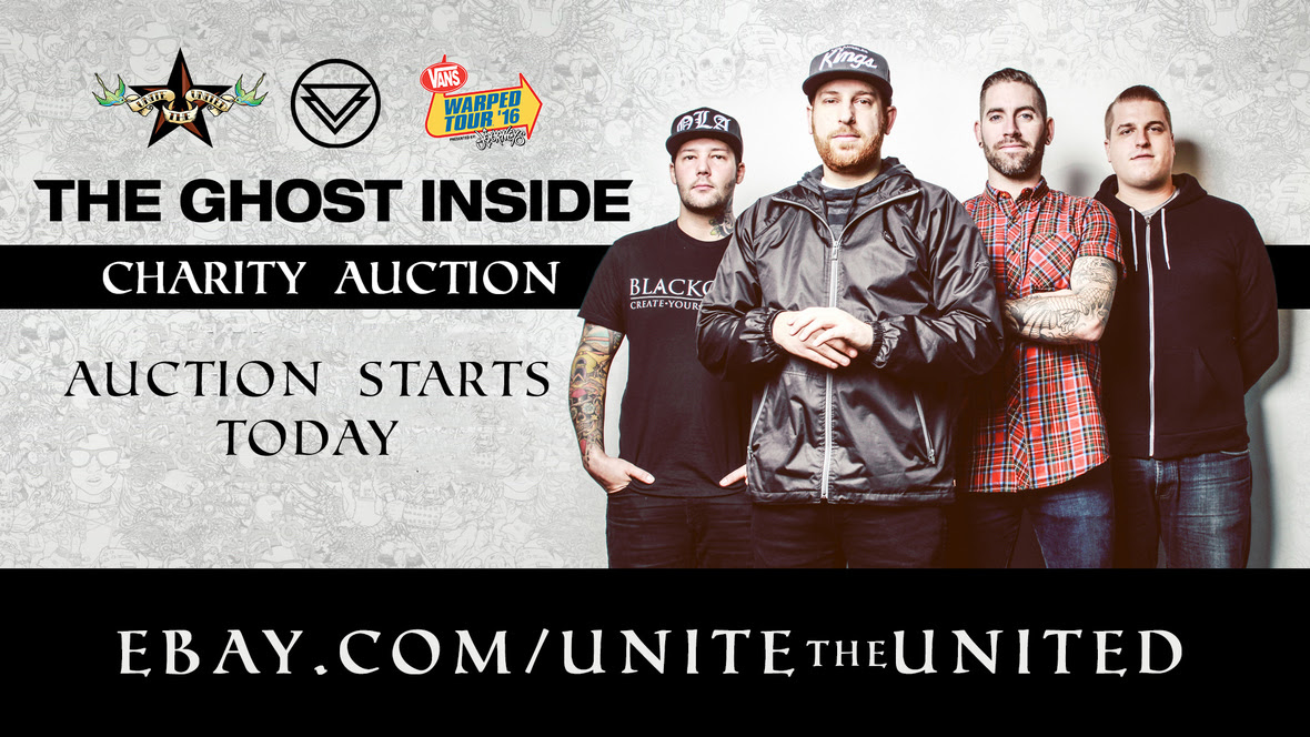 the ghost inside unite the united auction