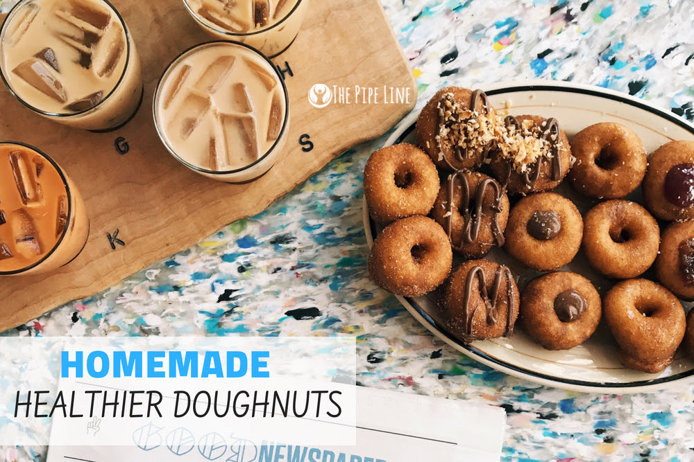 A HOMEMADE DOUGHNUT THAT'S NOT...