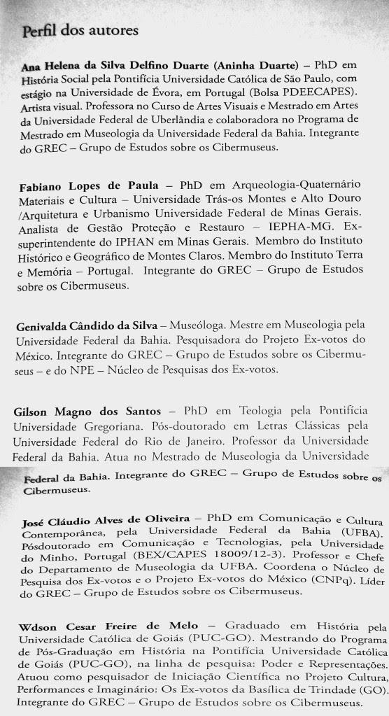 Perfil dos autores - A