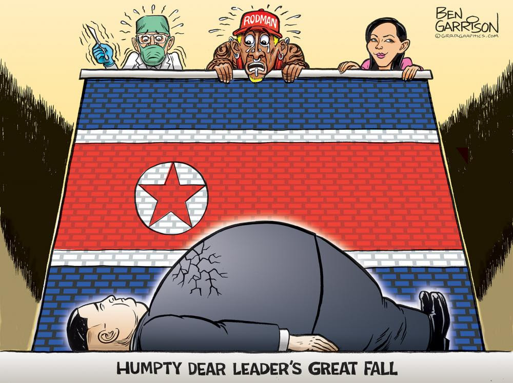Lindsey Graham On Kim Jong Un: 'I Pretty Well Believe He Is Dead Or Incapacitated' Eaac1feb8c1ade48b01ed3a771bf88be